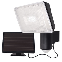 Solei 7w 6000K 700lms Solar LED Security Light with Sensor