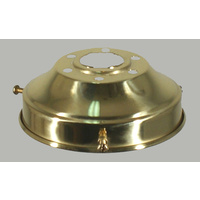 "Gallery  4 1/4"" Polished Brass"