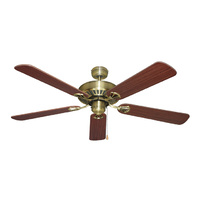 "Hayman 52"" Ceiling Fan Range with 5 Blades, Timeless Classic with A Smooth, Tailored Look & PoweRFul AiRFlow. Light & Remote Control Adaptable."