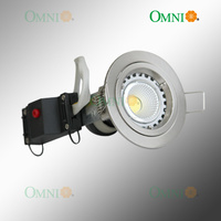 70mm GU10 Fixed Downlight Kit