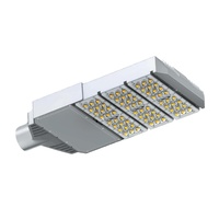 Street Light LED Silver 90W 5000K (9000lms) Ipart IP66 Wty 5yr
