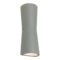 Graz Exterior Wall Light Silver