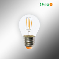 E14 LED Filament Fancy Round Dimmable