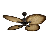 Oasis 1300mm 4 ABS Blade Palm Leaf Ceiling Fan Only Old Bronze