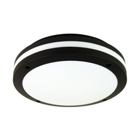 TONATO PLAIN BLACK OUTDOOR LIGHT E27